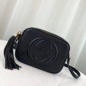 Authentic🌟 G u c c i 🌟Disco Soho Bag Black